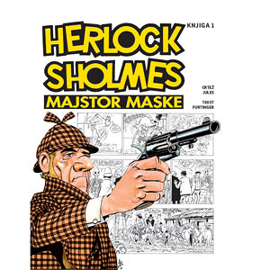 Naslovnica prvog albuma o Herlocku Sholmesu
